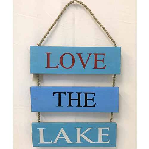 Love the Lake - turquoise/light blue/turquoise