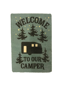 magnet - welcome to our camper