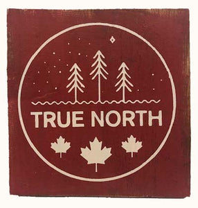 True North sign