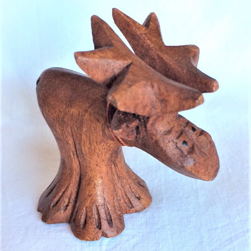 Standing Cartoon Moose - small