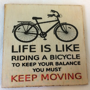 Coaster - Life is like a bicycle