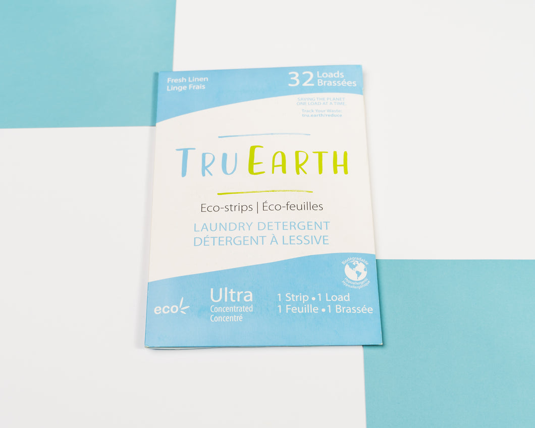 Tru Earth Eco-strips - fresh linen scent