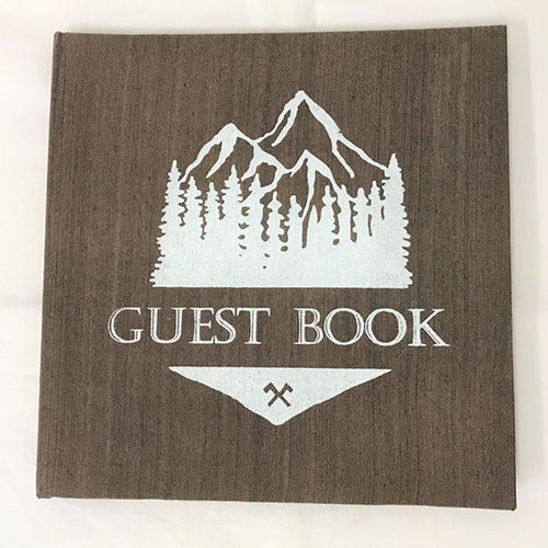 Mountains Guest Book