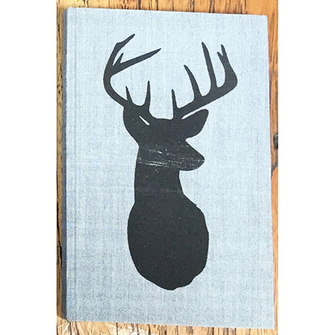 Notebook - Deer Head - Grey