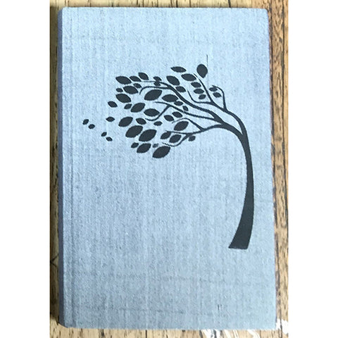 Notebook - Windswept Tree - Grey