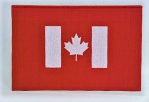 Notebook - Canadian Flag - Red & White