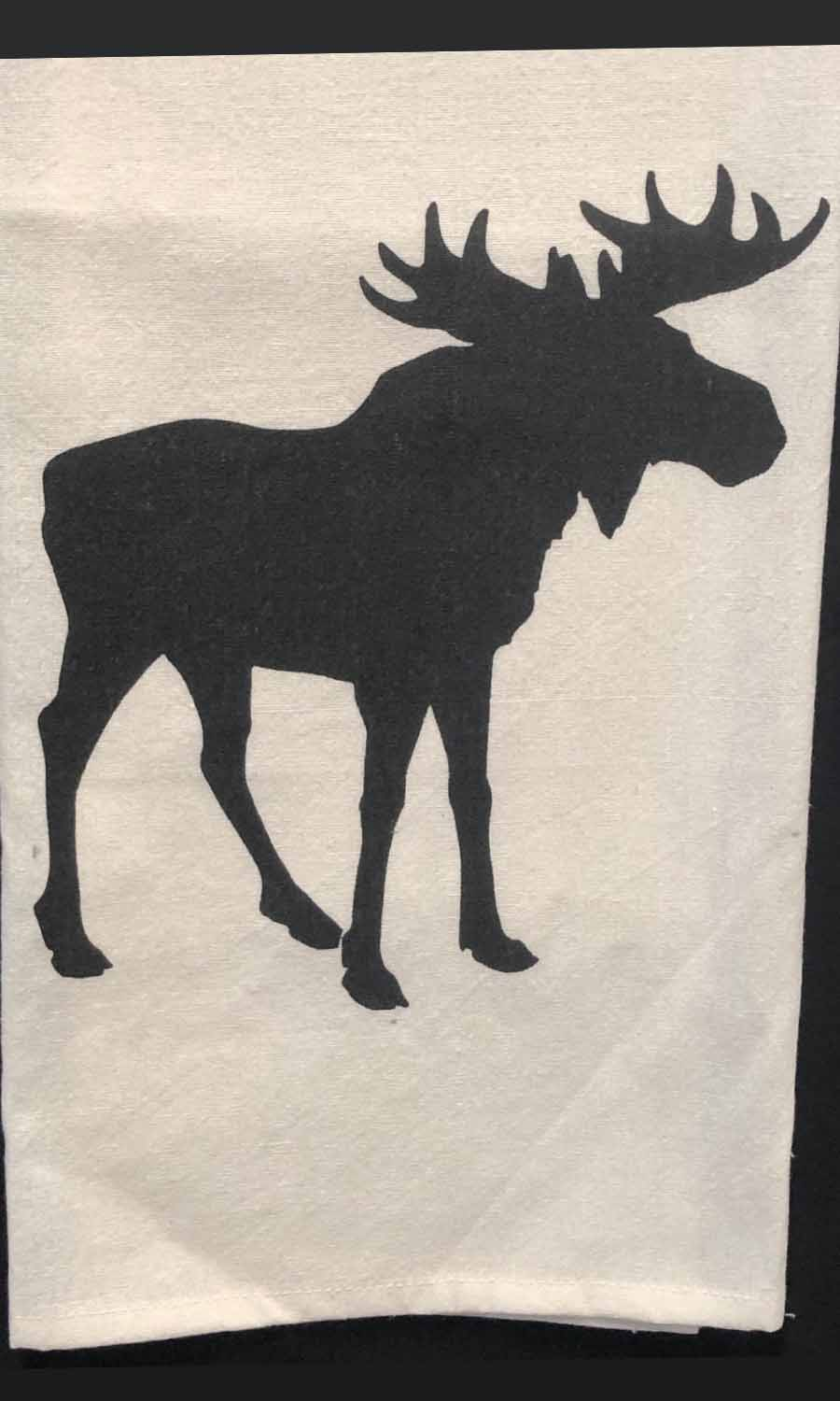 Moose Dish Towel