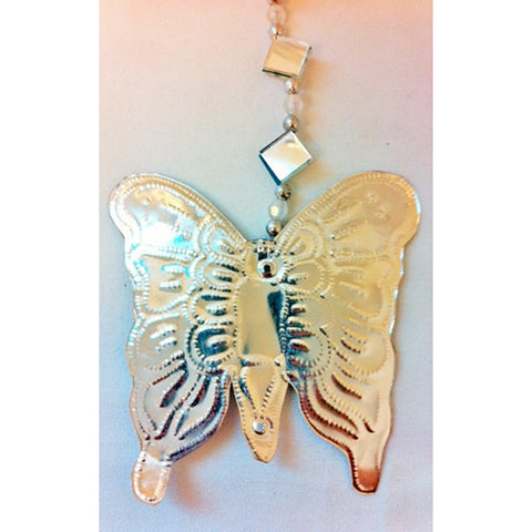 string - tin w/ mirror - butterfly - 1.5m
