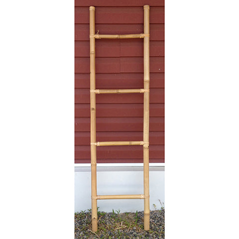 bamboo ladder - 160cm - natural