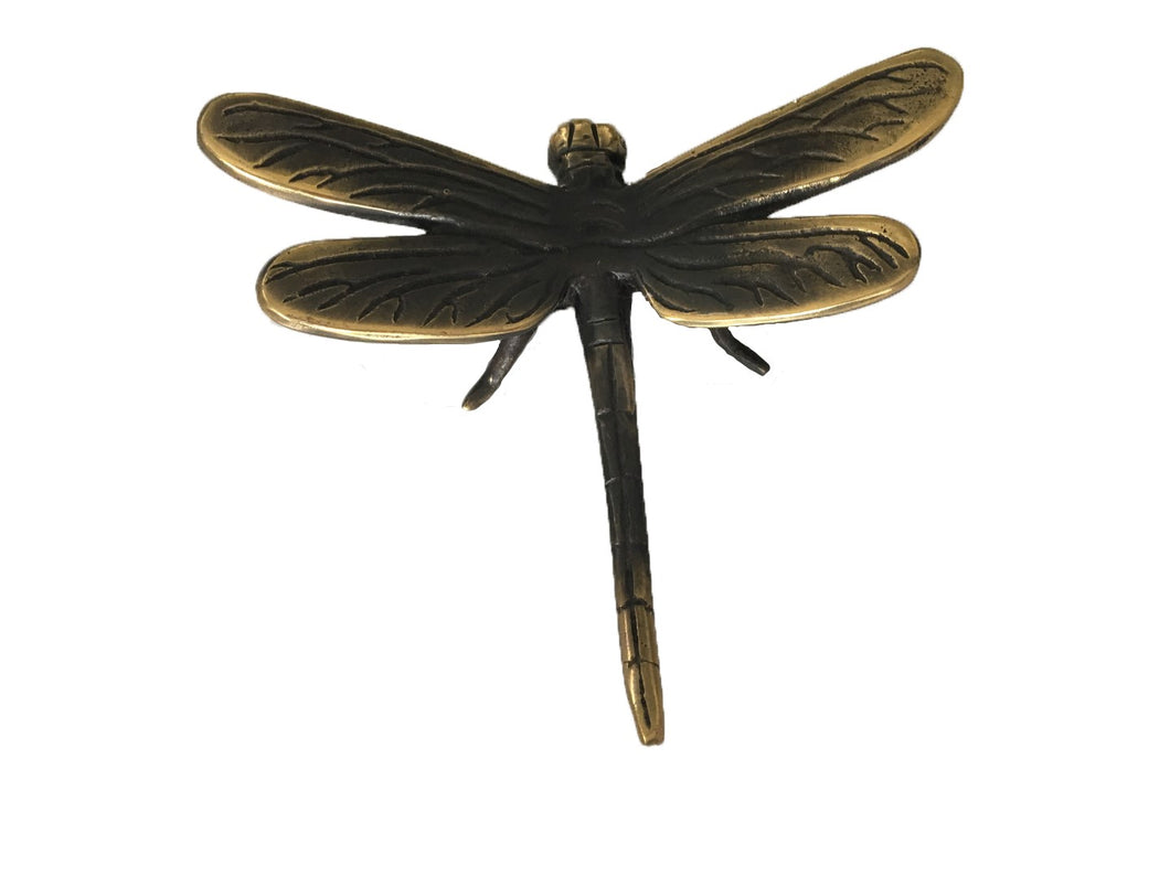 Bronze Dragonfly Figurine