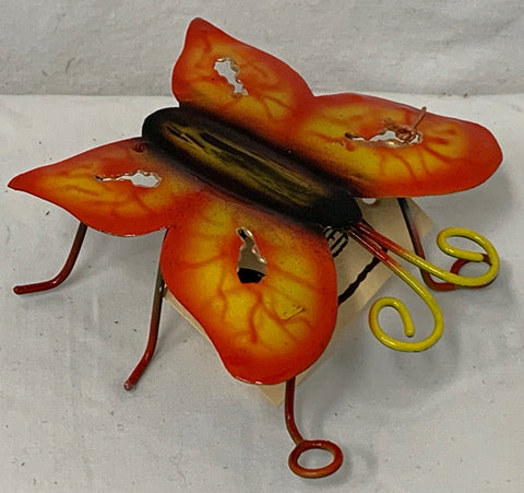 butterfly - mini - iron - 8cm - orange