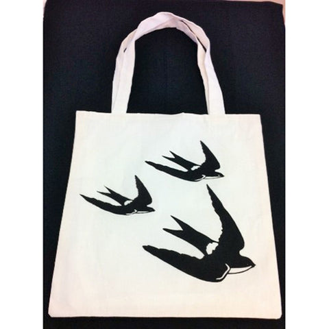 tote bag - Sparrows