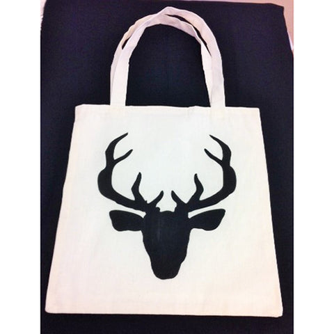 tote bag - Deer Head