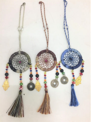 bag key ring - dreamcatcher - mini - 4cm