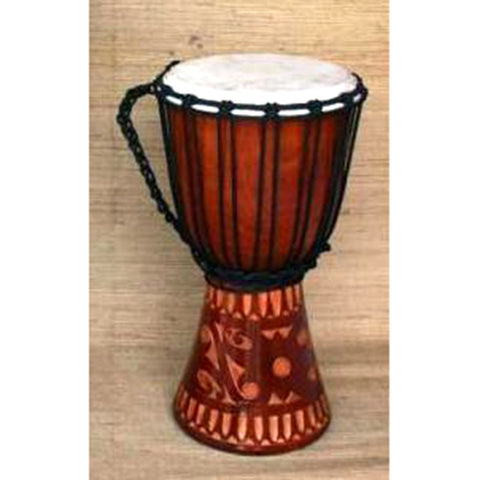 Drum - carved - 40cm