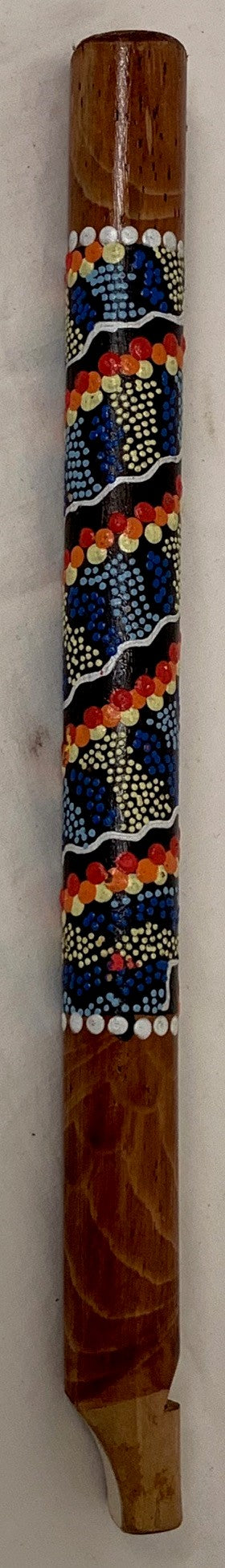 flute - painted - mixed colour