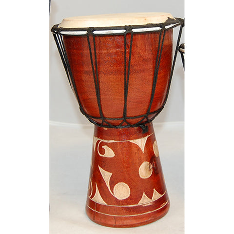 drum - 25cm - kalimantan carving