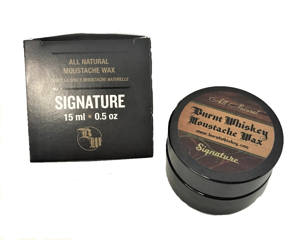 Signature Moustache Wax - 15mL