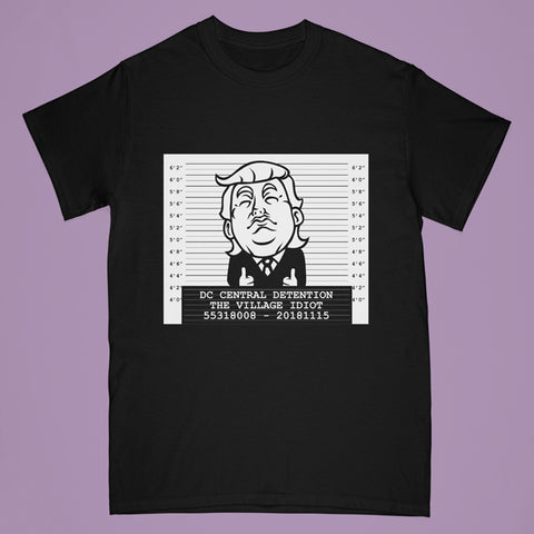 Trump tshirt - black - Adult medium