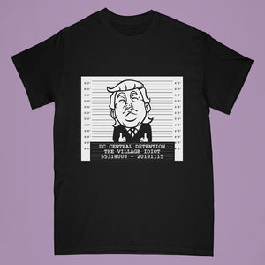 Trump tshirt - black - Adult large