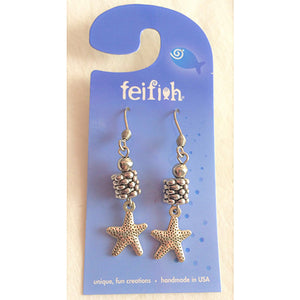 FF - brighton beach earrings - starfish