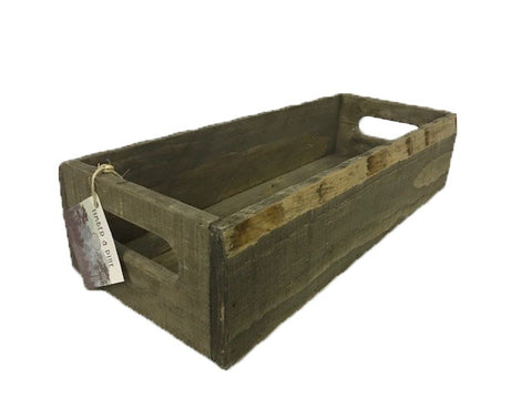 short rectangular tray - STAINED