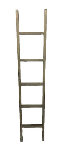 6' decorative ladder - STAINED