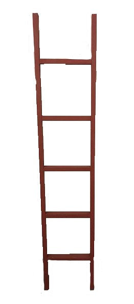 6' Decorative Ladder - RED