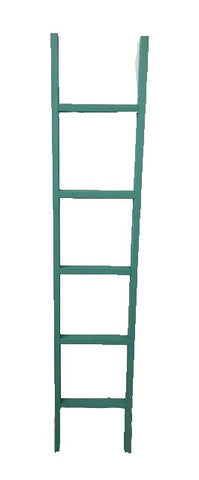 6' decorative ladder - TURQUOISE
