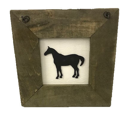 framed decal - HORSE