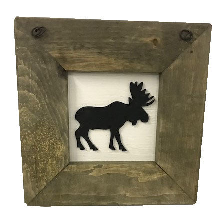 Moose - Framed Decal