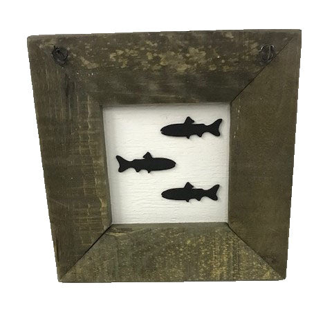 Trout Fish - Framed Decal