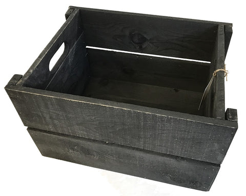 pop crate - BLACK