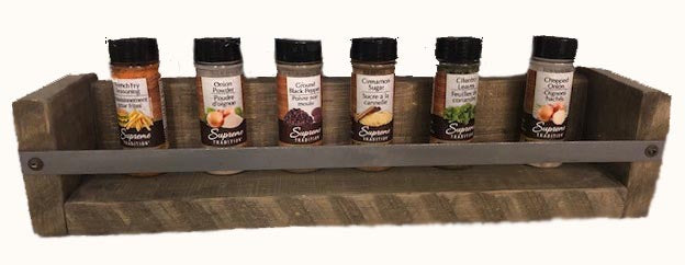 Spice Rack - STAINED - Small