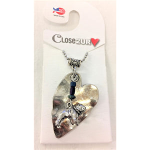 FF - necklace - bull dog - C2URH