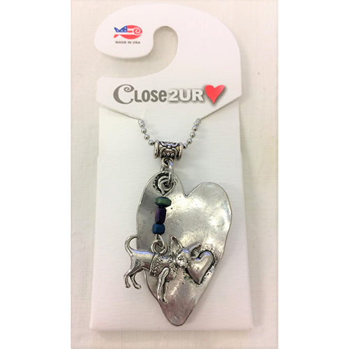 FF - necklace - chihuahua - C2URH