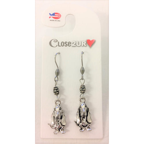 Bassett Hound Earrings