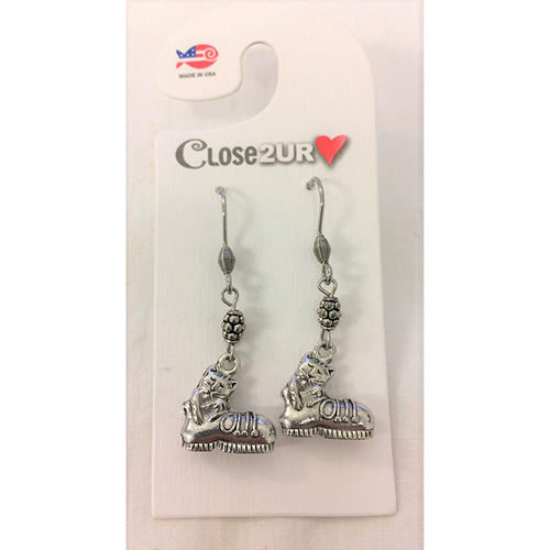 FF - earrings - boot - C2URH