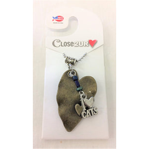 FF - necklace - I Love Cats - C2URH