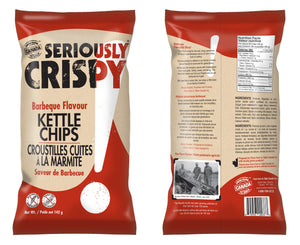 Seriously Crispy Kettle chip - BBQ