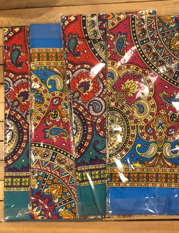 bandana - colourful paisley - assorted
