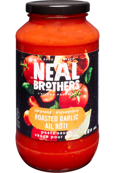 Neal Brothers - Roasted Garlic pasta sauce