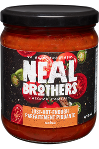 Neal Brothers - Just Hot Enough salsa