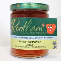 Rootham's tangy red pepper jelly
