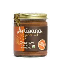 Load image into Gallery viewer, Artisana Cashew Cacao Spread