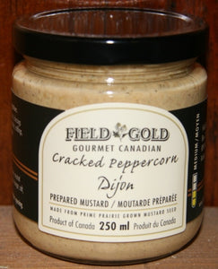 Field Gold - Cracked Peppercorn Dijon mustard