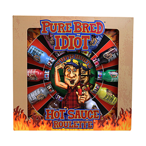 Hot Sauce Gift Set - Pure Bred Idiot Hot Sauce Roulette