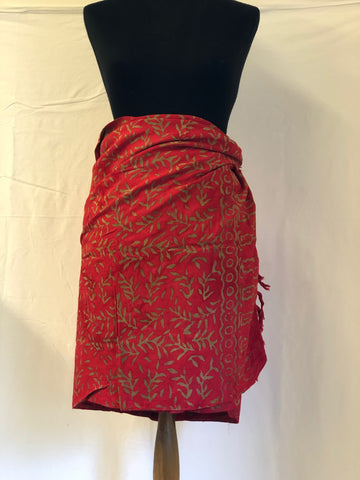 Beautiful Hand-Painted Batik Sarong