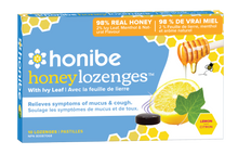 Load image into Gallery viewer, Honibe - honey lozenges - honey ivy leaf