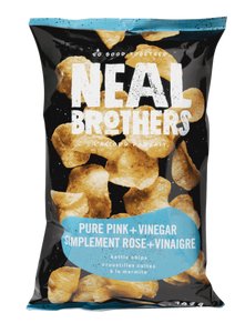 Neal Brothers - Pure Pink + Vinegar Kettle chips